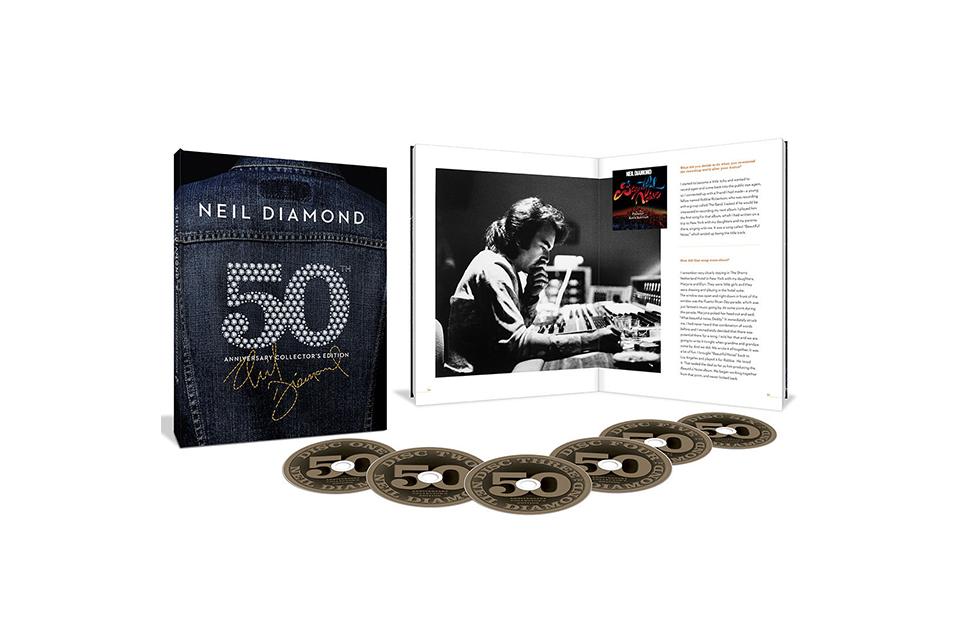 ニール・ダイアモンドの50周年記念ボックス・セットが発売