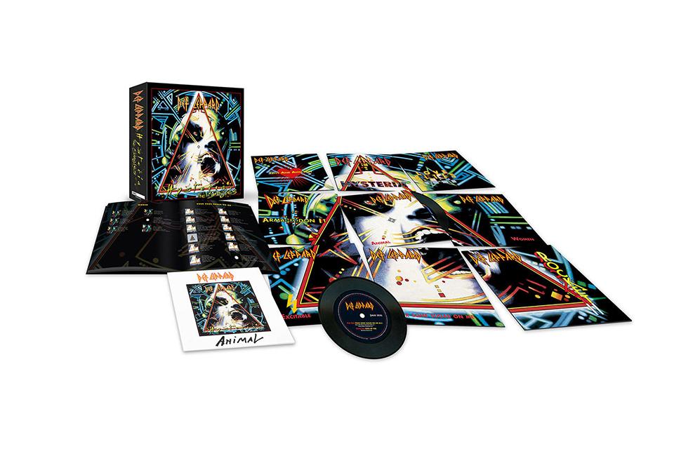 デフ・レパードが新曲入りのベスト・アルバムと『Hysteria』の7インチ・シングル・ボックスセットをリリース