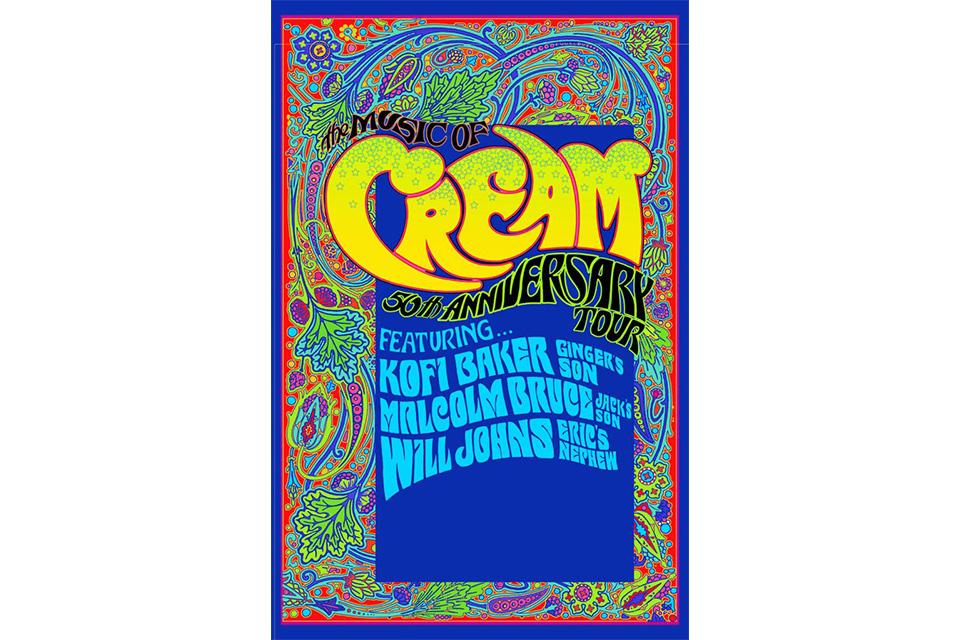 ザ・ミュージック・オブ・クリームがクリーム解散50周年記念ツアーをスタート