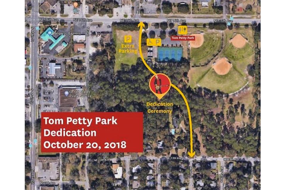 トム・ペティの故郷に〈トム・ペティ公園〉が誕生