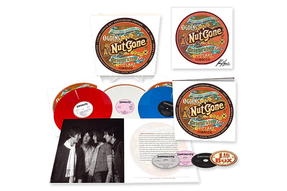 スモール・フェイセスの名盤『Ogdens' Nut Gone Flake』50周年記念エディションが発売