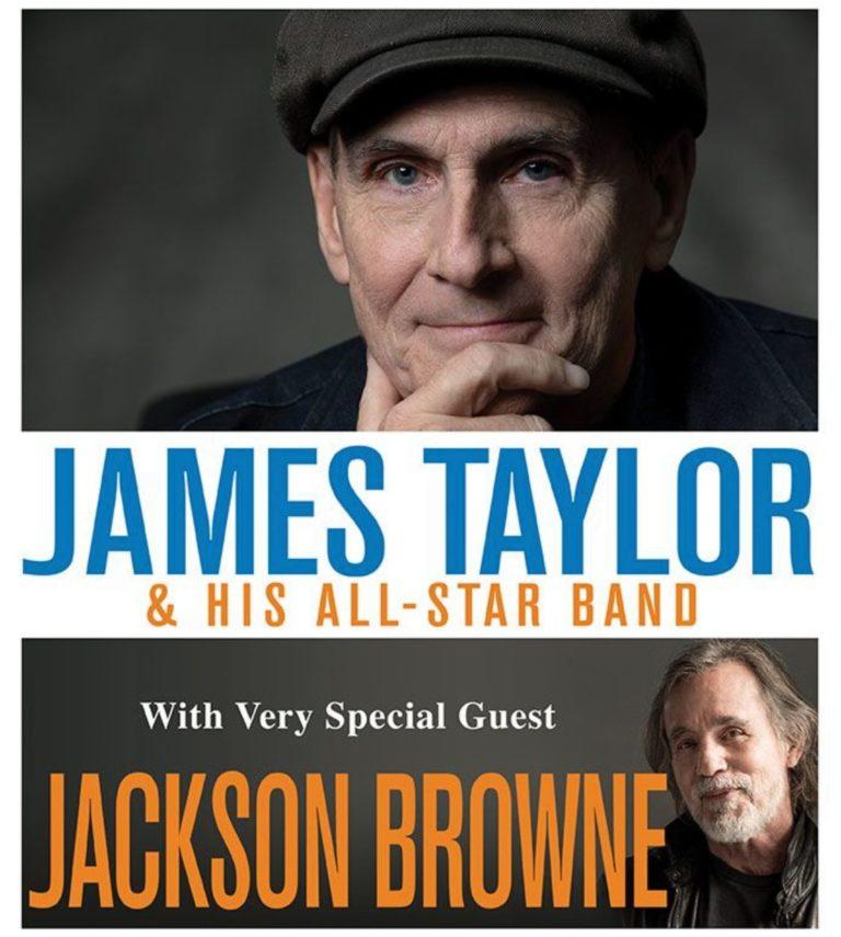 ジェイムス・テイラーがジャクソン・ブラウンとのUSアリーナ・ツアーを ...